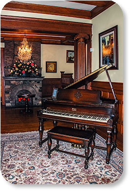 Photo: Starr Piano in the Gennett Mansion