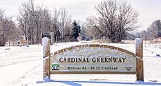 Photo: Webster Trailhead - Cardinal Greenway