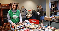 Photo: Margaret Wotherspoon, Library Book Sale Volunteer