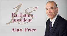 Supplied Photo: Earlham President, Alan Price