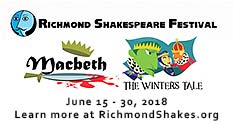 Graphic: Richmond Shakespeare Festival: Macbeth and The Winters Tale