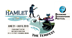 Graphic: Richmond Shakespeare Festival - Hamlet & The Tempest.