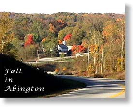 Fall in Abington  (20953 bytes)