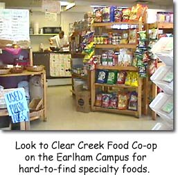 Clear Creek Food Cooperative on Earlham's Campus