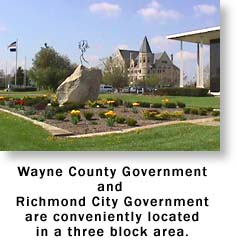 County and City Government are closely located.  Click for Local Government Links.