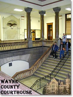 Interior - Wayne County Courthouse