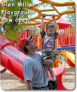 Glen Miller Park Playground Now Open!