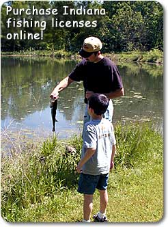 Purchase your Indiana fishing licence online!  Click here.