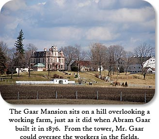 The Gaar Mansion - click for more info.