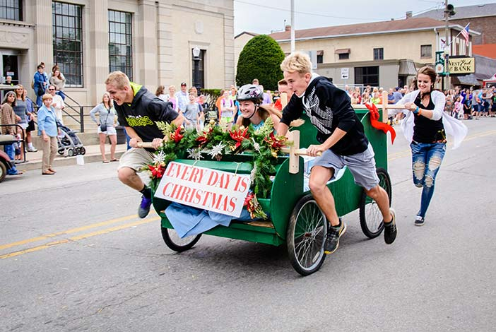 Bed Race Returns to Jubilee Days