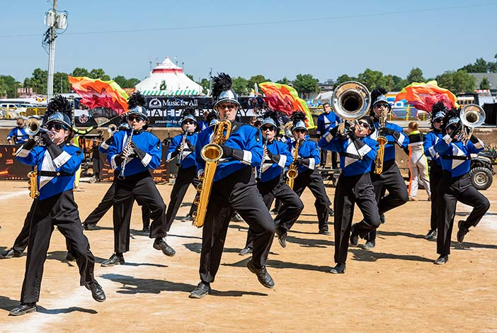 Centerville at State Fair Band Day