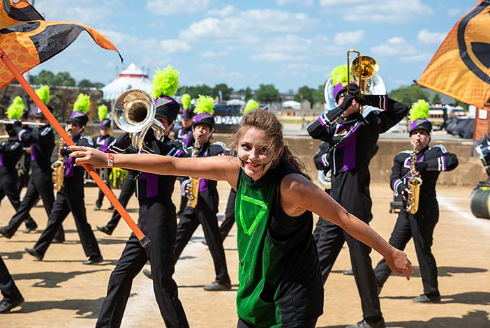 Hagerstown at State Fair Band Day