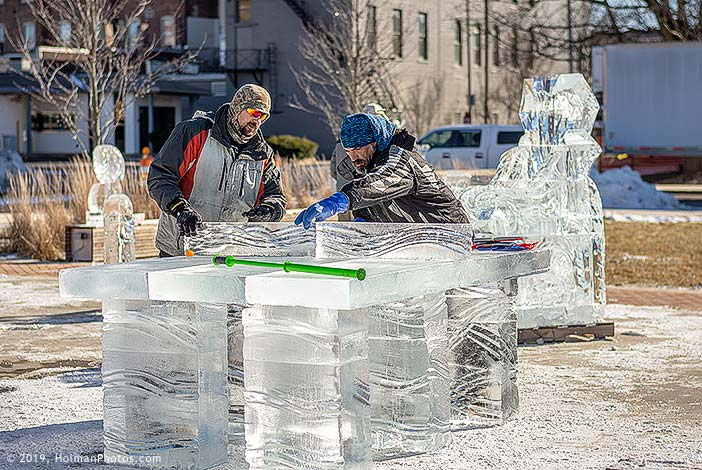 Come Meet the Ice Carvers