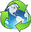 Icon: Recycle the Earth