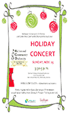Supplied Flyer: RCO Holiday Concert