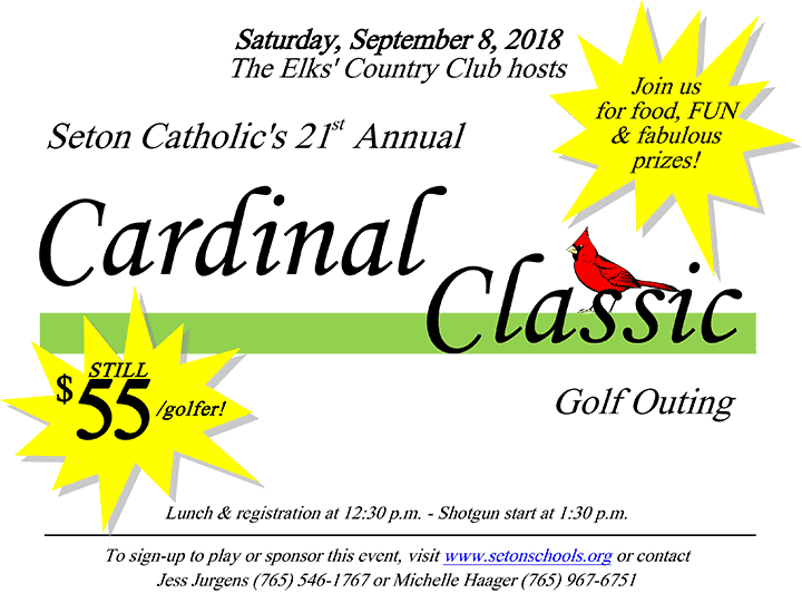 Supplied Flyer: Cardinal Classic Golf Outing