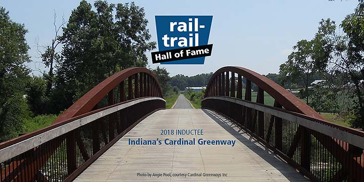 Supplied Photo: Cardinal Greenway Trail and Bridge