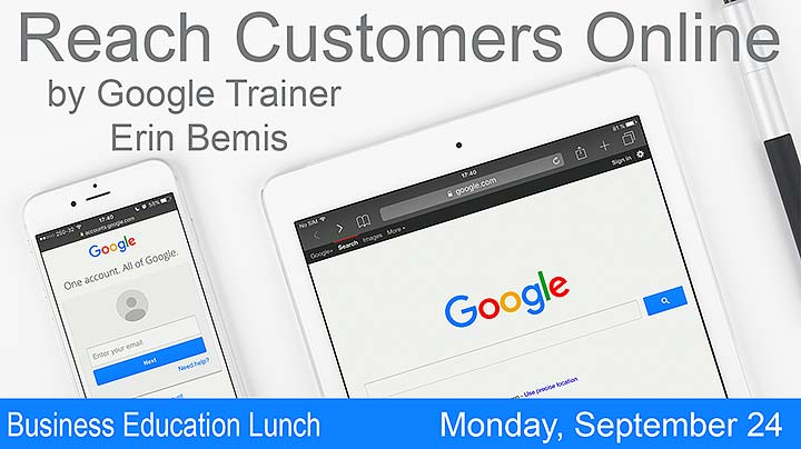 Supplied Graphic: Google Trainer Luncheon