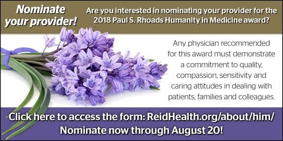 Supplied Graphic: Humanity in Medicine Award