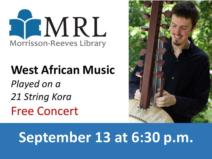 Supplied Image: West African Music Concert at MRL