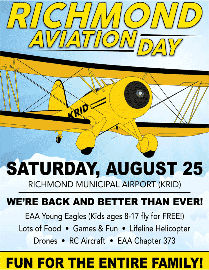 Supplied Flyer: Aviation Day 2018