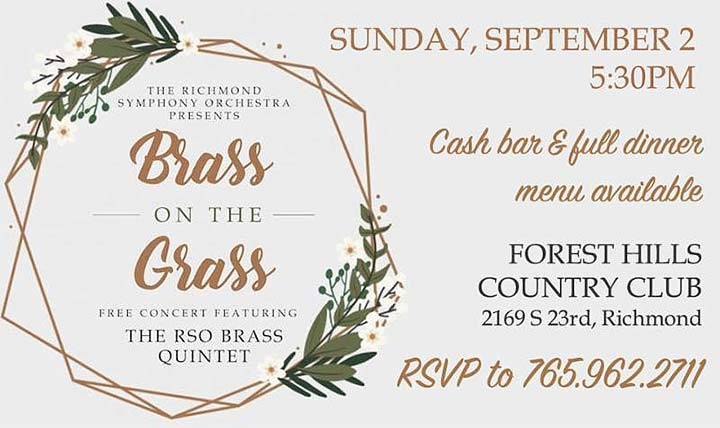Supplied Flyer: RSO's Brass on the Grass