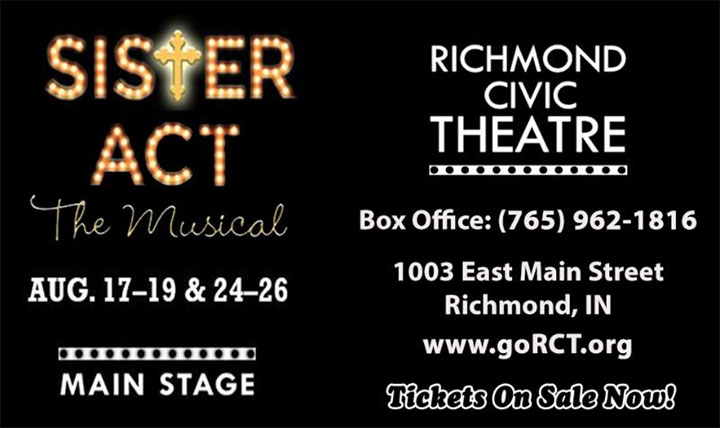 Graphic: Sister Act: The Musical