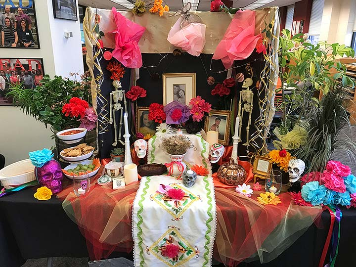 Supplied Photo: Day of the Dead Altar