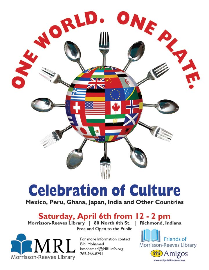 Supplied Poster: One World, One Plate