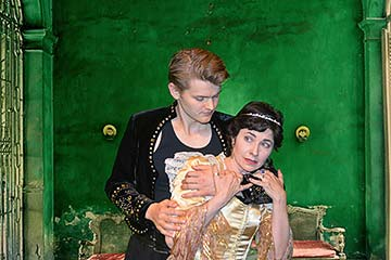 Supplied Photo: Hamlet and Gertrude