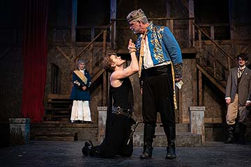 Supplied Photo: Hamlet with King