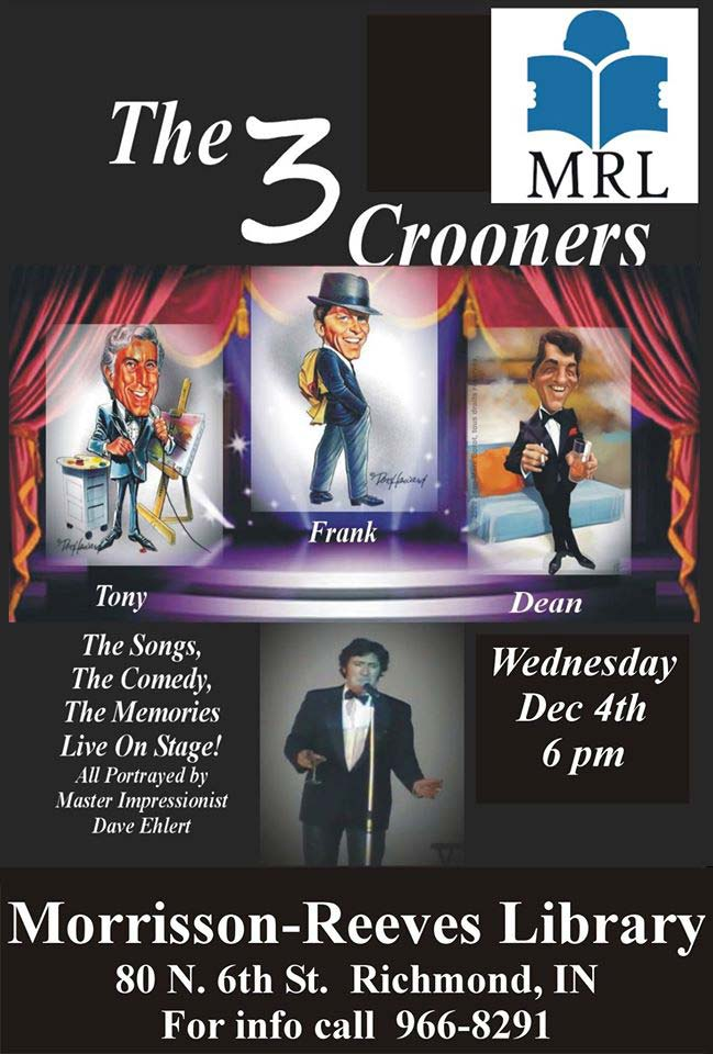 Supplied Flyer: The Three Crooners
