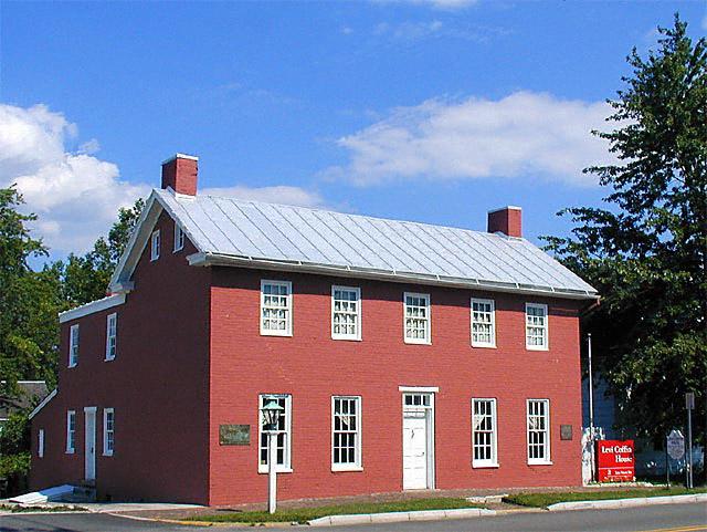 Levi Coffin House Underground Railroad S Quot Grand Central