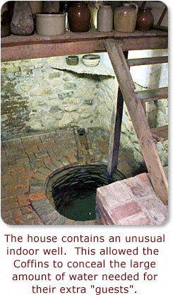 Hidden well in basement. - Click for larger view.