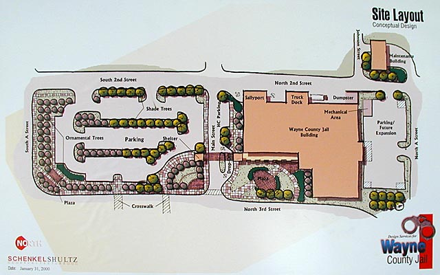 Proposed New Wayne County Indiana Jail In Wayne County